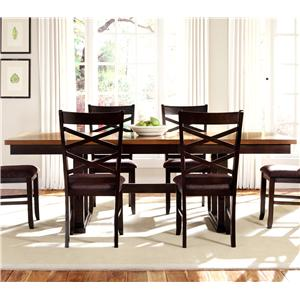 Liberty Furniture Bistro II Trestle Table