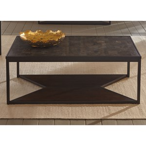 Liberty Furniture Blue Stone Hills Occasional Cocktail Table