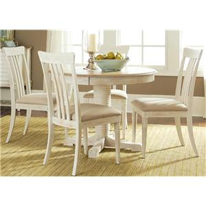 Vendor 5349 Bluff Cove Small Casual Dining Table and Chair Set