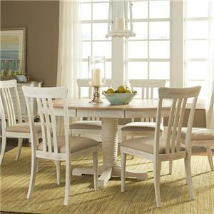Vendor 5349 Bluff Cove Large Casual Dining Table and Chair Set