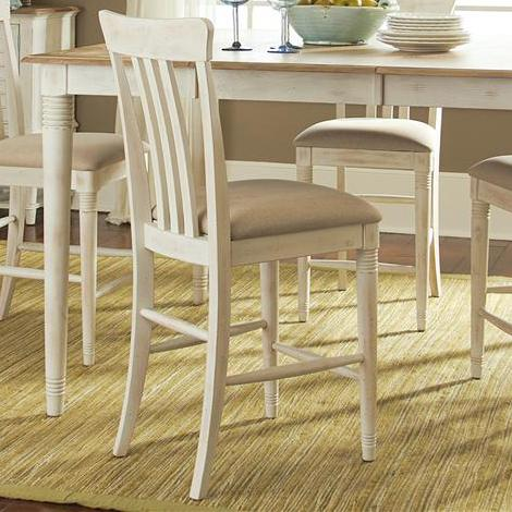 Liberty Furniture Point West Slat Back Counter Chair - Item Number: 568-B150124