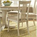 Vendor 5349 Bluff Cove Slat Back Side Chair - Item Number: 568-C15015