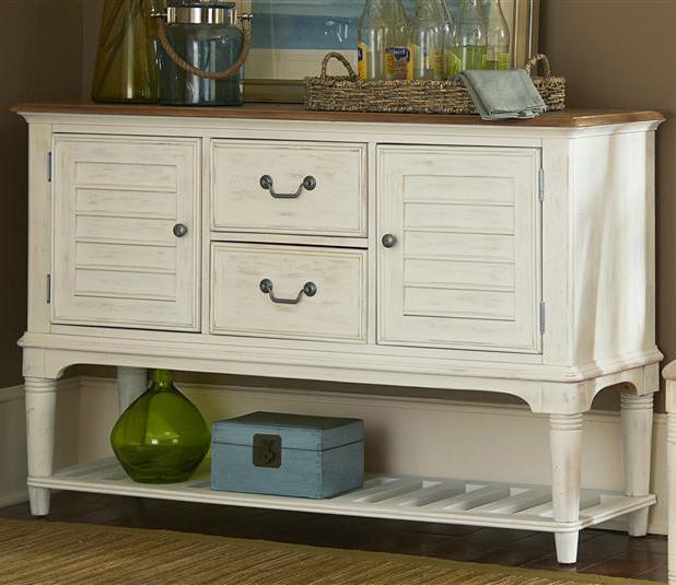 Liberty Furniture Bluff Cove Leg Server - Item Number: 568-SR5636