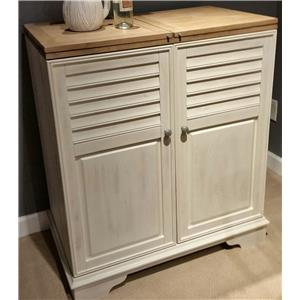 Liberty Furniture Bluff Cove Wine Cabinet