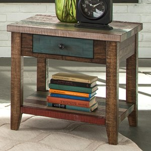 Liberty Furniture Boho Loft One Drawer End Table