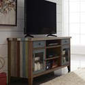 "Liberty Furniture Boho Loft 60"" TV Console - Item Number: 174-TV60"