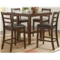 Liberty Furniture Bradshaw Casual Dining 5 Piece Gathering Table Set - Item Number: 32-CD-5GTS