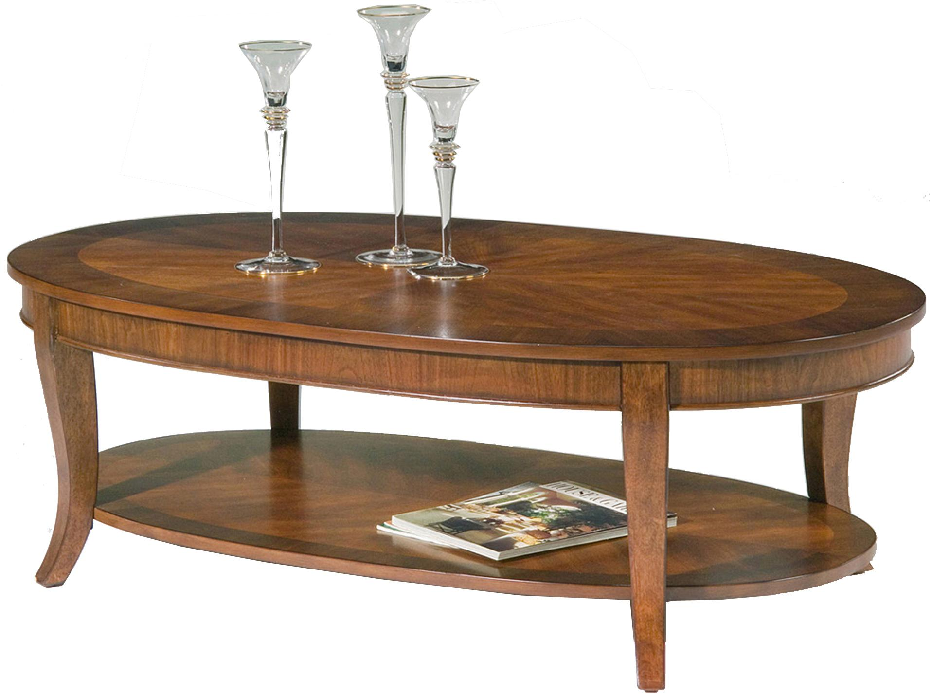 Liberty Furniture Bradshaw Oval Cocktail Table - Item Number: 748-OT1011
