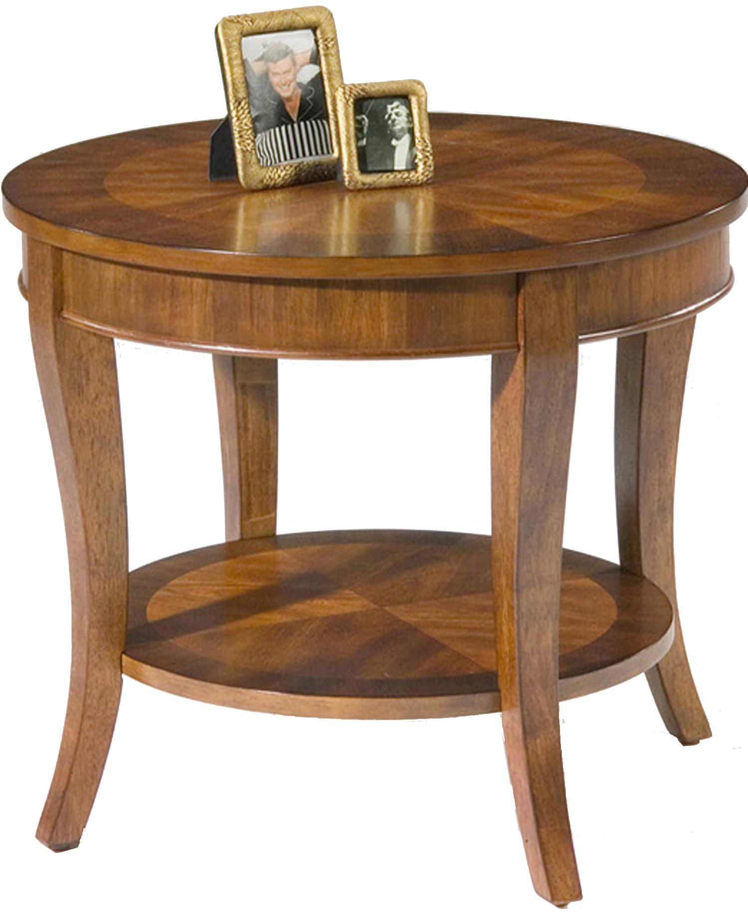 Liberty Furniture Bradshaw Round End Table - Item Number: 748-OT1020