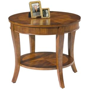 Liberty Furniture Bradshaw Round End Table