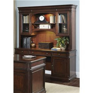 Liberty Furniture Brayton Manor Jr Executive Credenza and Hutch