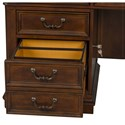 Liberty Furniture Brayton Manor Jr Executive Traditional Credenza with 3 Drawers