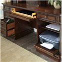Vendor 5349 Brayton Manor Jr Executive Traditional Credenza with 3 Drawers