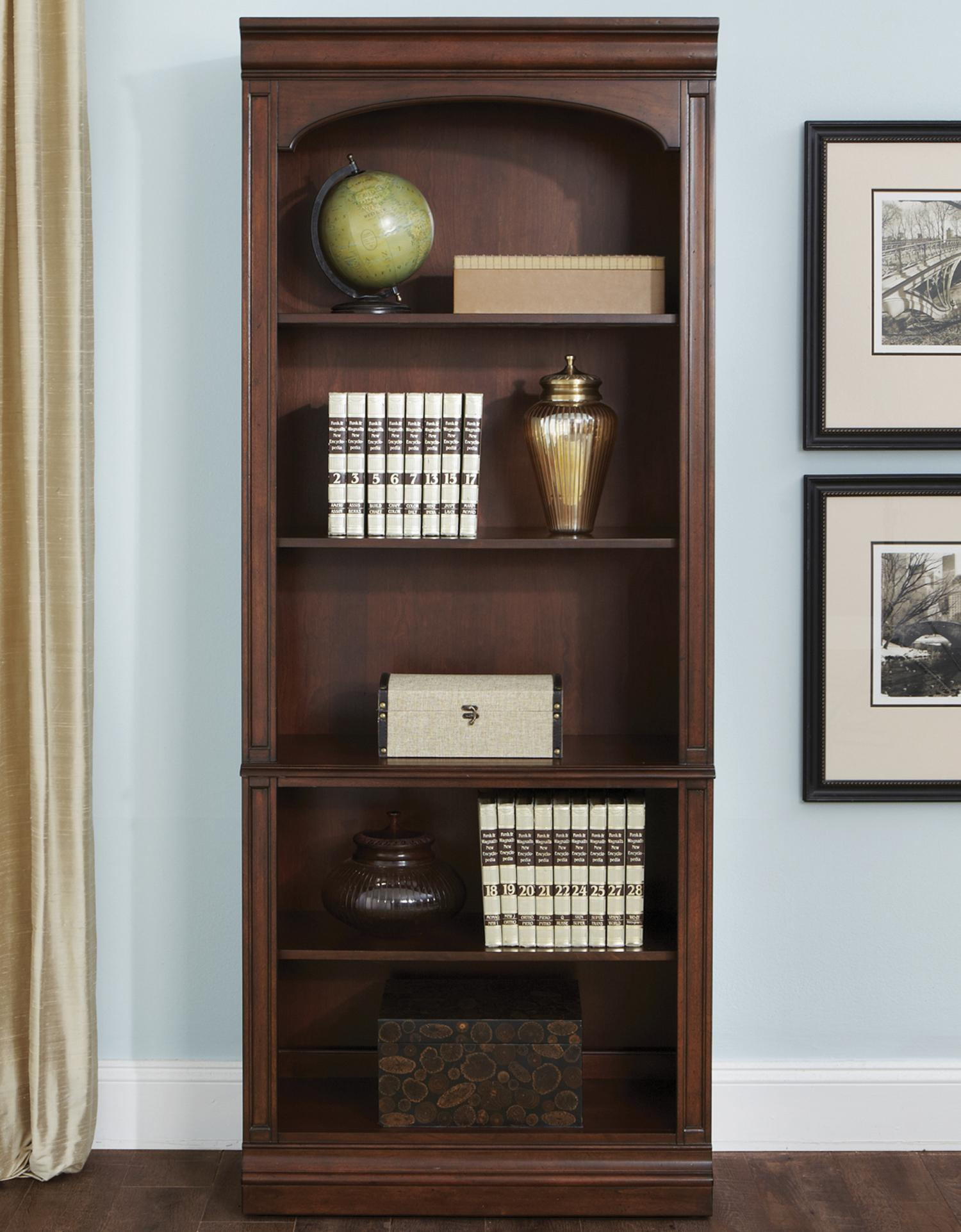 Liberty Furniture Brayton Manor Jr Executive Open Bookcase - Item Number: 273-HO201