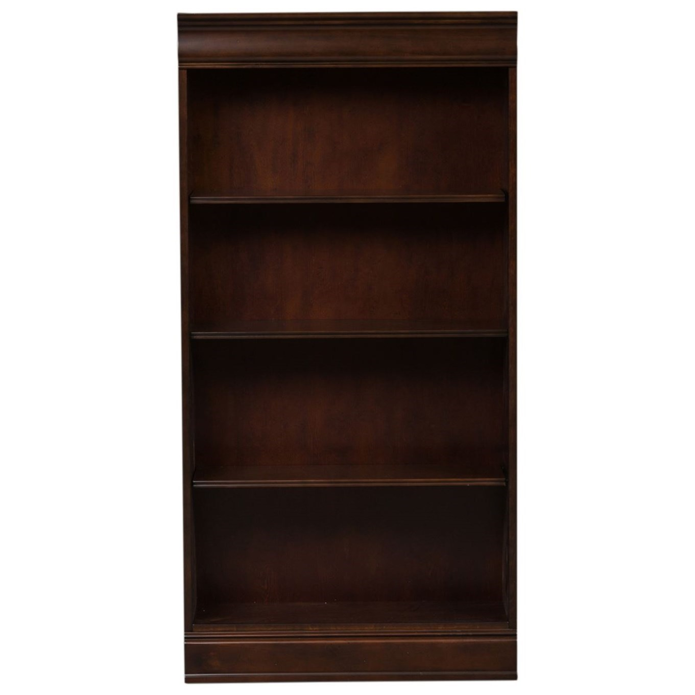 Brayton Manor Jr Executive 60 Inch Bookcase by Liberty Furniture at Zak's Home