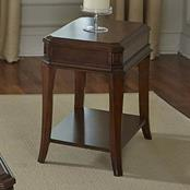 Liberty Furniture Brighton Park Chair Side Table - Item Number: 363-OT1021