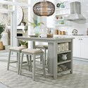 Liberty Furniture Brook Creek 5-Piece Counter Set - Item Number: 942-CD-5CTS