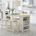 Liberty Furniture Brook Creek 5-Piece Counter Set - Item Number: 942W-CD-5CTS
