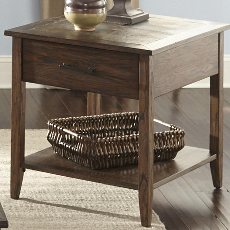 Liberty Furniture Brookstone End Table - Item Number: 107-OT1020