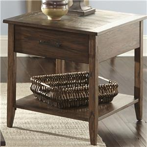 Liberty Furniture Brookstone End Table