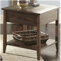 Liberty Furniture Brookstone End Table - Item Number: 107-OT1020