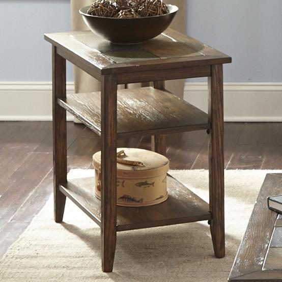 Liberty Furniture Brookstone Chairside Table - Item Number: 107-OT1021