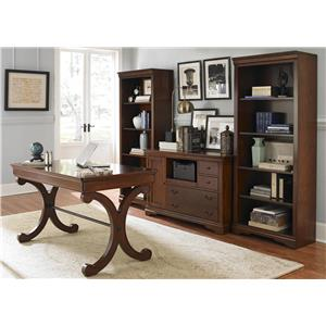 Liberty Furniture Brookview 4 Piece Desk Set