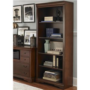 Liberty Furniture Brookview Open Bookcase