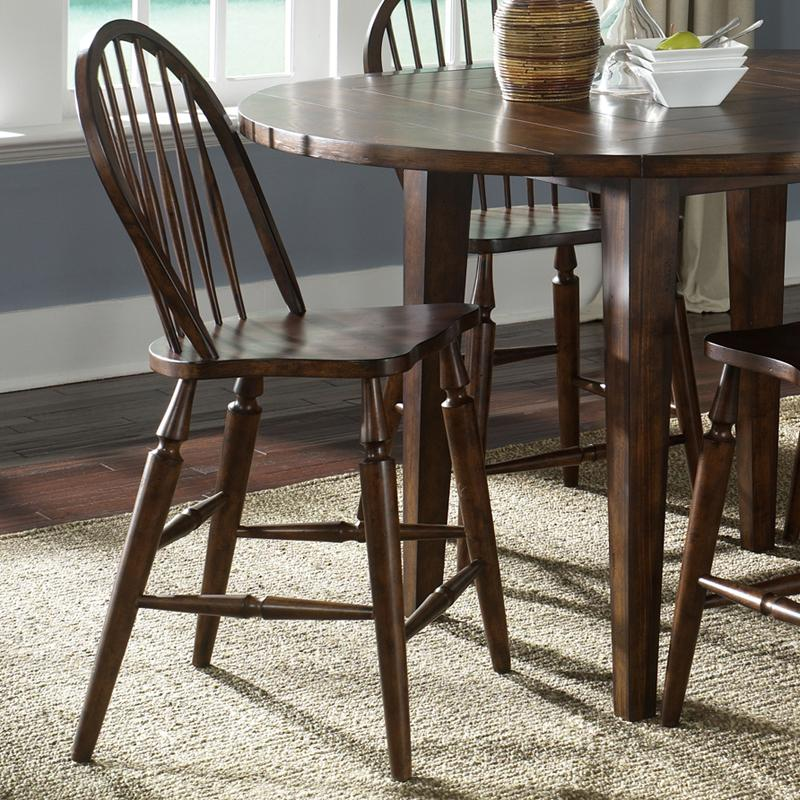 Liberty Furniture Cabin Fever Windsor Back Barstool - Item Number: 121-B100024