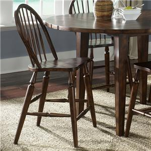 Liberty Furniture Cabin Fever Windsor Back Barstool