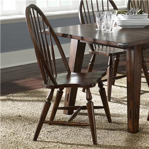 Liberty Furniture Cabin Fever Windsor Back Side Chair