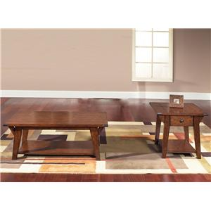 Vendor 5349 Cabin Fever 3 Piece Occasional Table Set