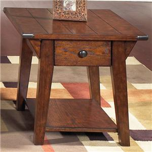 Vendor 5349 Cabin Fever Drawer End Table