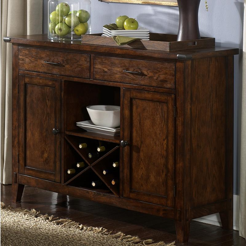 Liberty Furniture Cabin Fever Server - Item Number: 121-SR5238