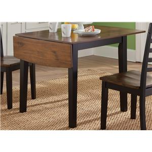Liberty Furniture Cafe Dining Drop Leaf Table