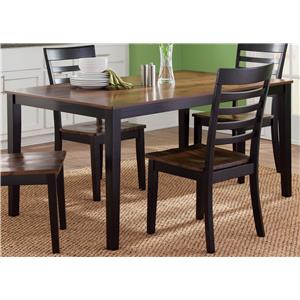 Vendor 5349 Cafe Dining Rectangular Leg Table