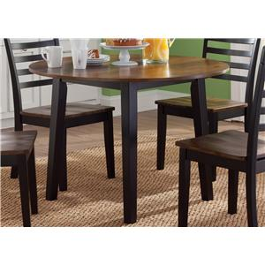Liberty Furniture Cafe Dining Round Fix Top Table