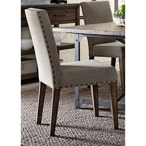 Liberty Furniture Caldwell Upholstered Dining Side Chair