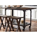 Liberty Furniture Caldwell Counter Height Kitchen Island - Item Number: 117-IT3060