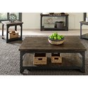 Liberty Furniture Caldwell Occ 3 Piece Occasional Table Set - Item Number: 117-OT-3PCS
