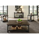 Liberty Furniture Caldwell Occ End Table with Shelf