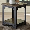 Liberty Furniture Caldwell Occ Chair Side Table - Item Number: 117-OT1021