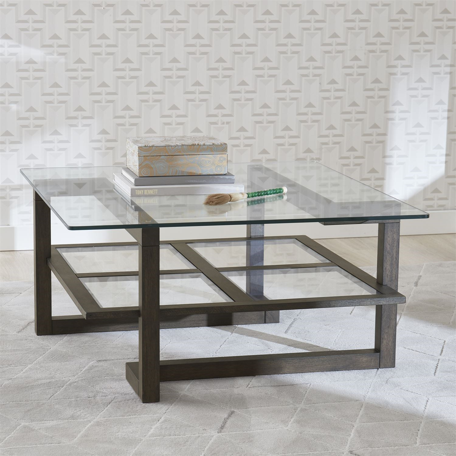 Calypso Square Cocktail Table by Liberty Furniture at Northeast Factory Direct