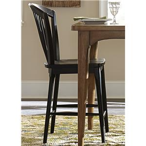 Liberty Furniture Candler Windsor Counter Chair