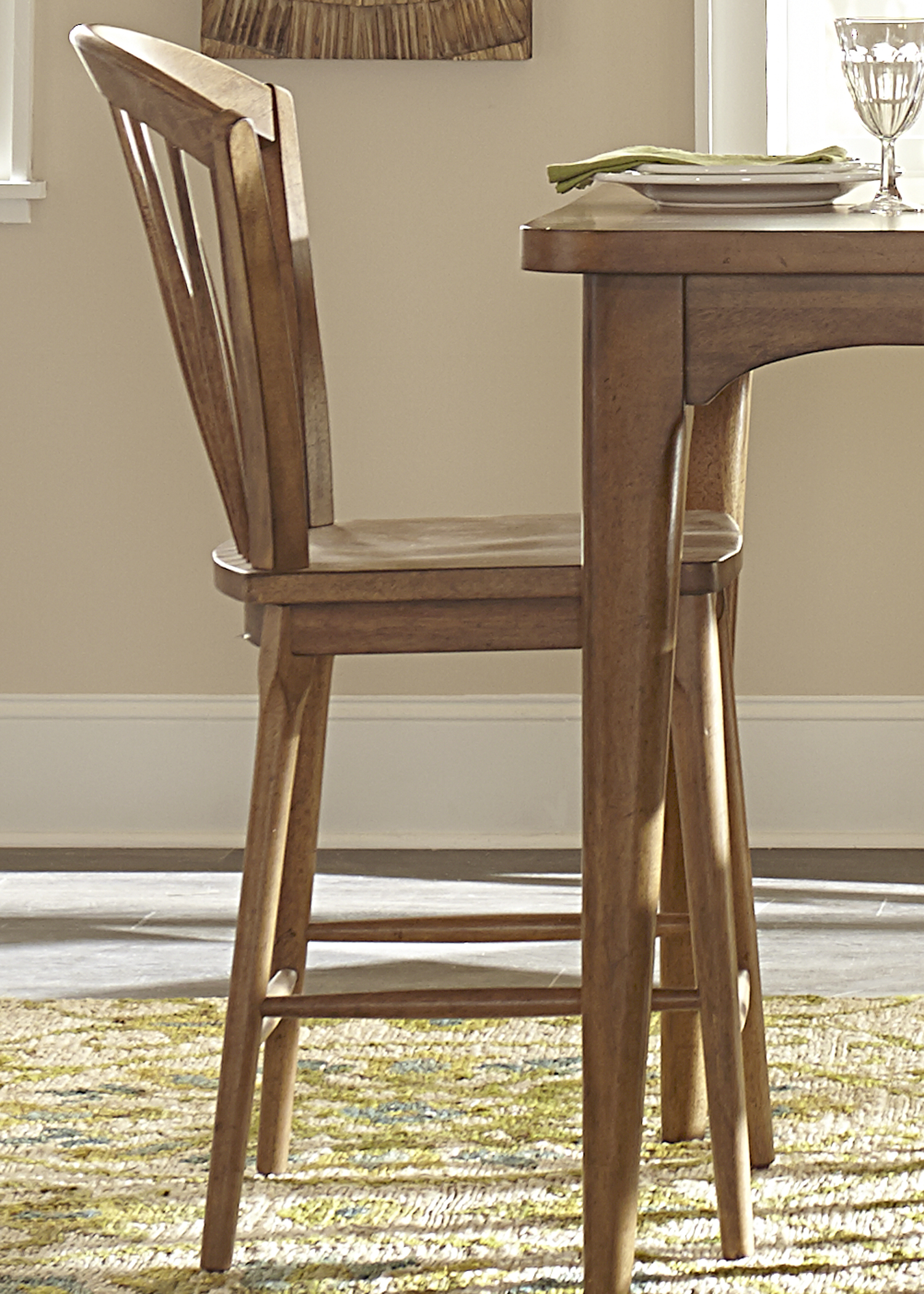 Liberty Furniture Candler Windsor Counter Chair - Item Number: 223-B100024