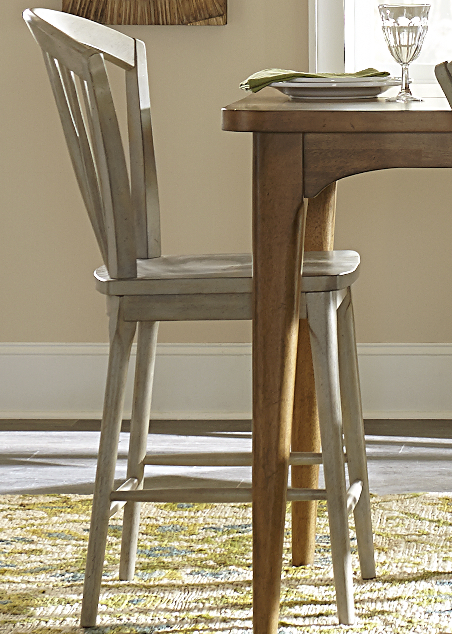 Liberty Furniture Candler Windsor Counter Chair - Item Number: 223-B100024-G
