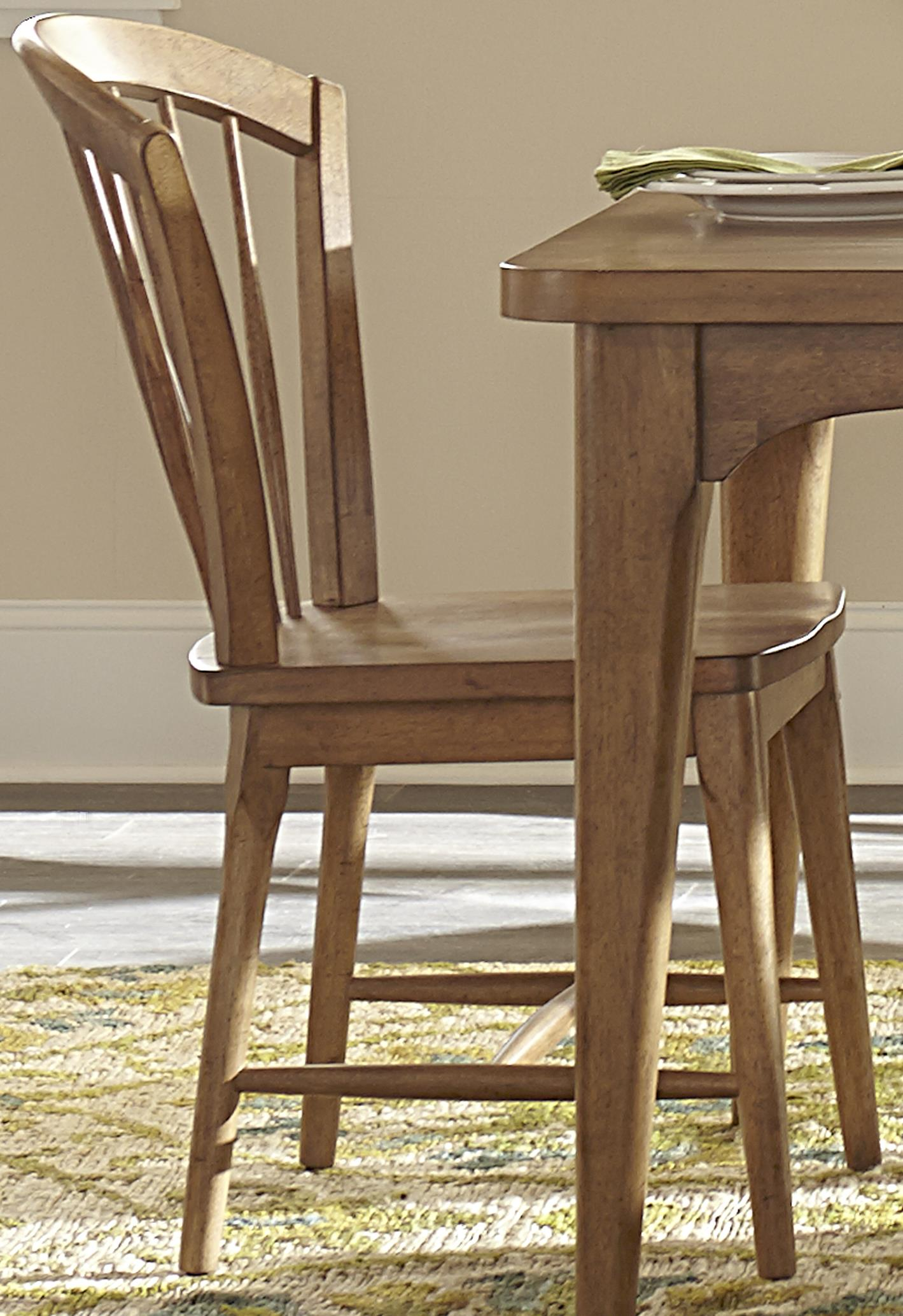 Liberty Furniture Candler Dining Windsor Chair with Tapered Legs - Item Number: 223-C1000S