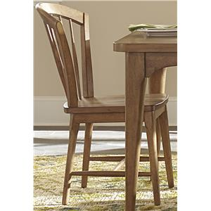 Vendor 5349 Candler Dining Windsor Chair with Tapered Legs
