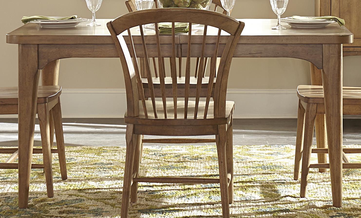 Liberty Furniture Candler Rectangular Dining Table - Item Number: 223-T4078