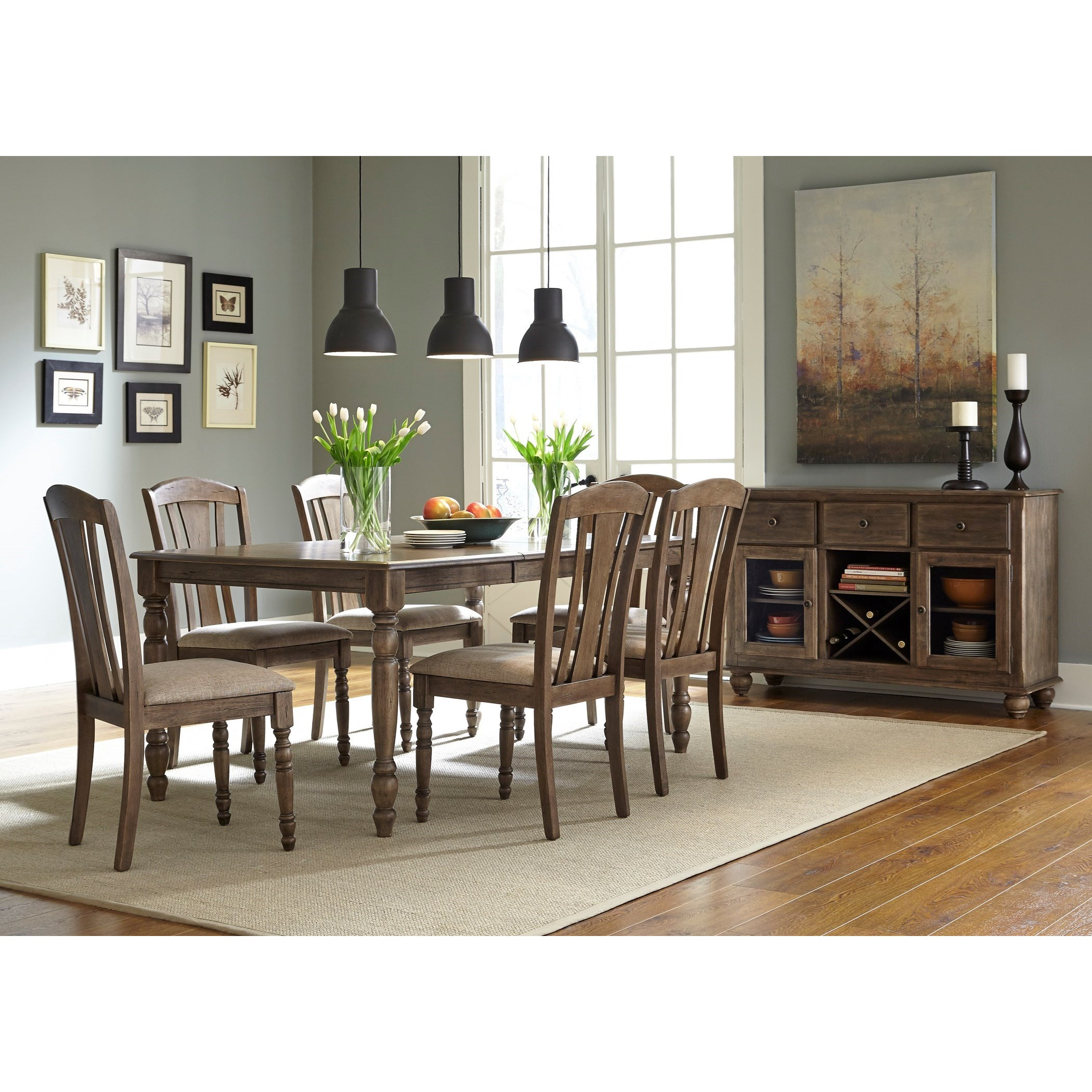 Informal Dining Room: Liberty Furniture Candlewood Casual Dining Room Group